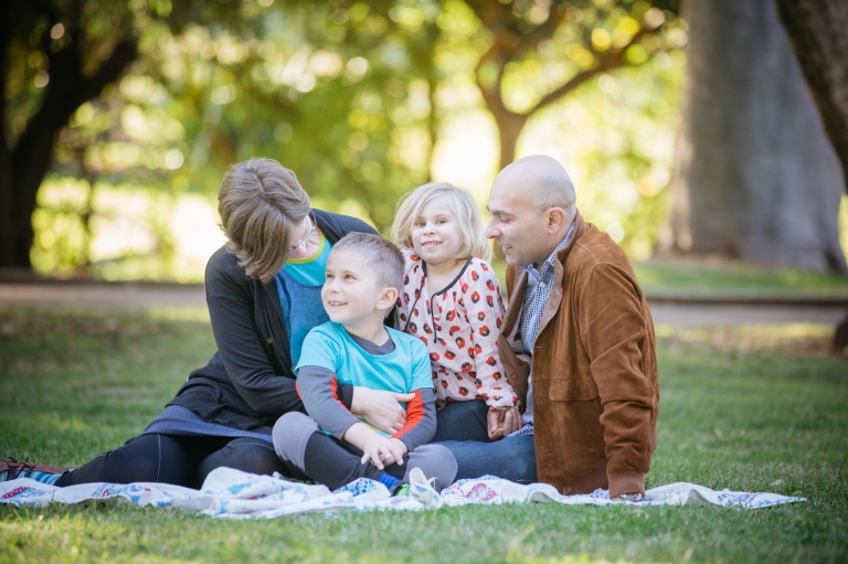 Sydney Family Photography - Family Fun in the inner west