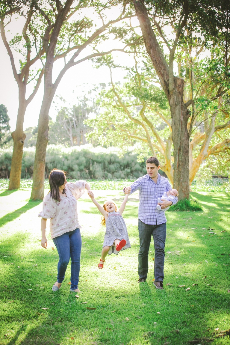 Sydney Family Photos in Centennial Park